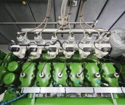 Wasserstoff-Blockheizkraftwerk