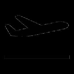 pictogram airplane