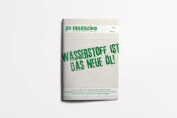 pv Magazin mit dem Titel
